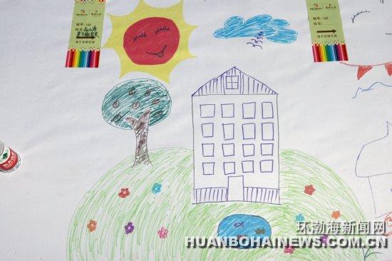 唐山百名儿童画家乡绘画作品