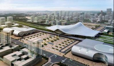 唐山火车站规划图