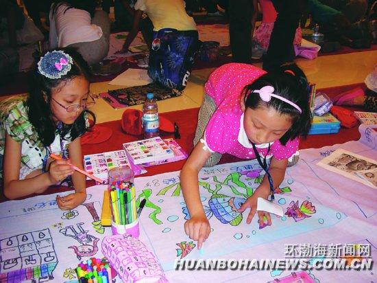 银泰百货举行第七届少儿绘画大赛(图)图片