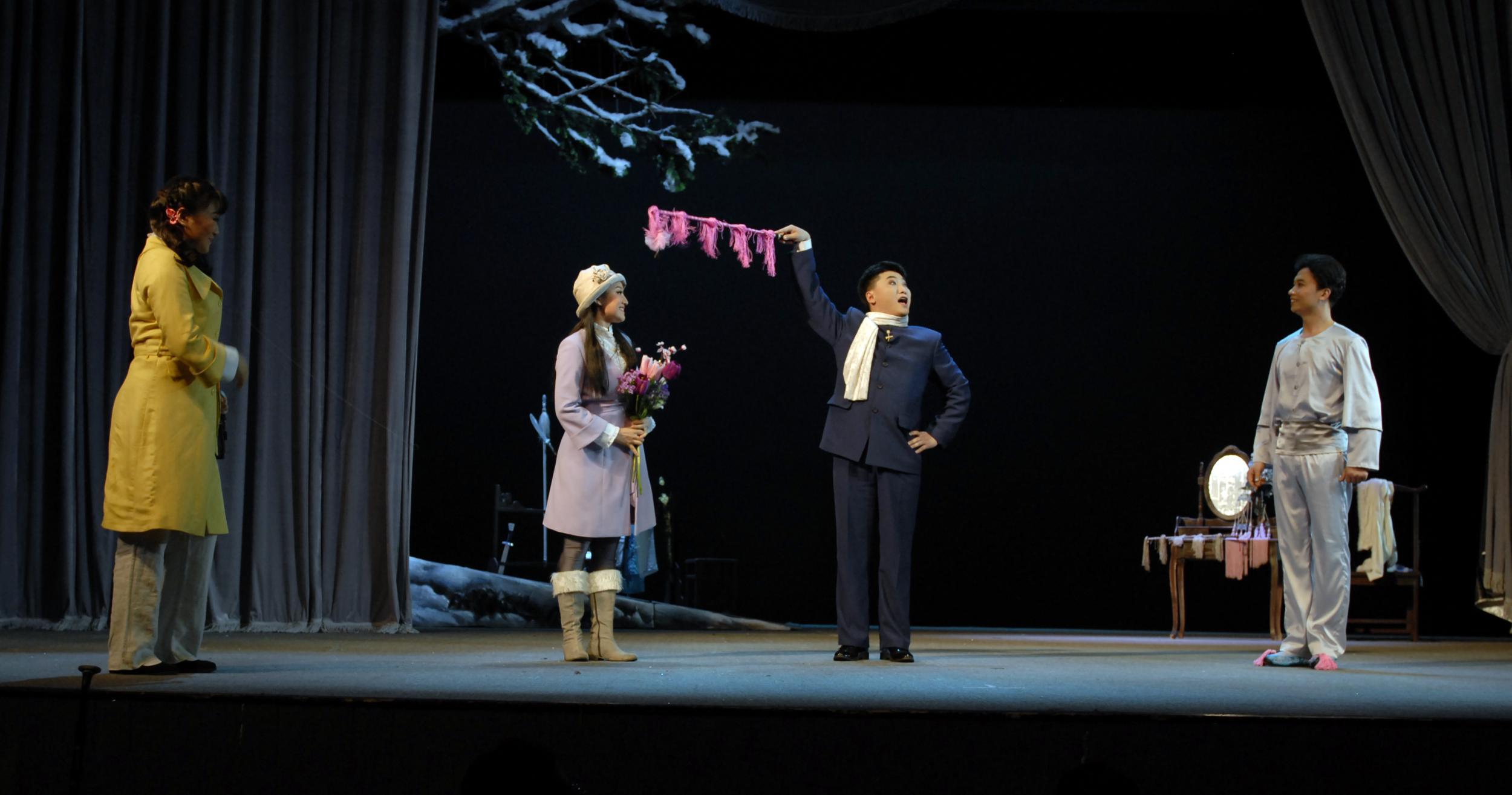黑龙江省评剧院《风雪夜归人》剧照