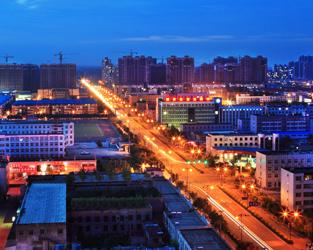 曹妃甸城区之夜