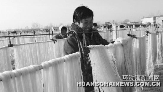 唐山:迁安粱庞庄村大力发展粉条加工产业(图)