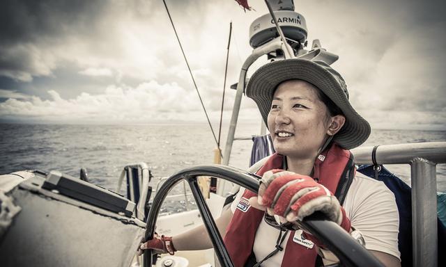 32岁青岛姑娘成为首位完成环球航海中国女性