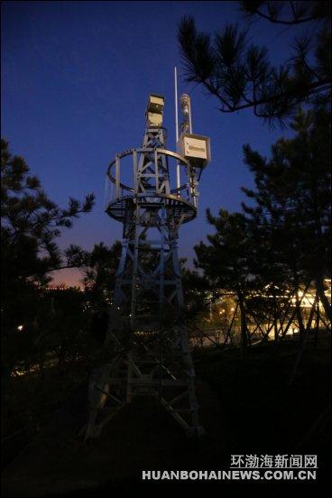 移动信号塔塔顶