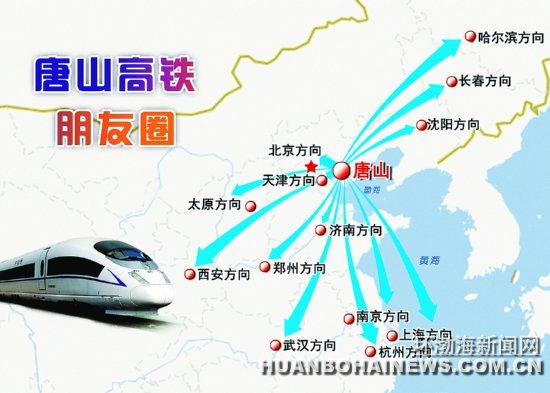 唐山人9月10日起可乘高铁去西安(图)