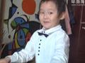 唐山五岁娃雪后作诗