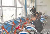 唐山:路南地税国税以共享单车为载体开展税收宣传