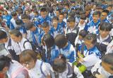 6月21日唐山60789名考生参加中考(图)