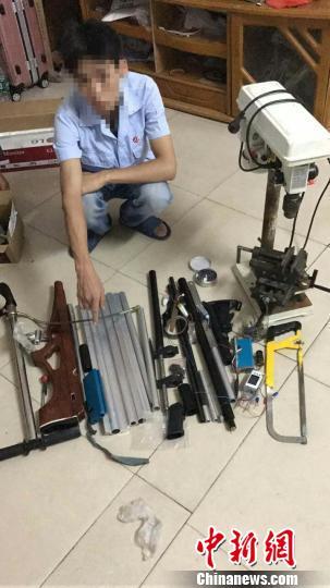 广东警方端掉制枪窝点10余个 抓获嫌犯400多名