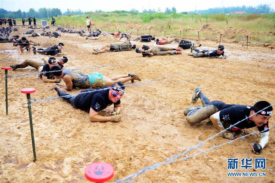 斯巴达勇士赛首次在青岛举行