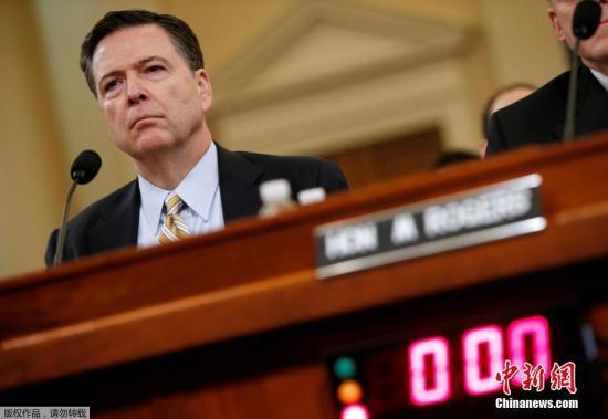 "FBI前局长科米再""中箭"" 白宫称其作伪证并泄密"