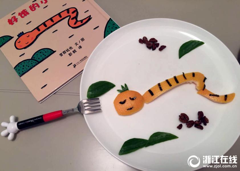厉害了!杭州一位母亲把早餐做成了画