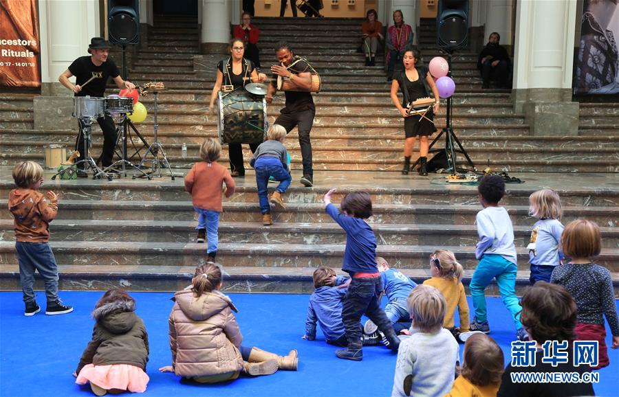 比利时举办儿童音乐节