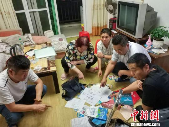 广西出动上千名警力粤桂打击传销