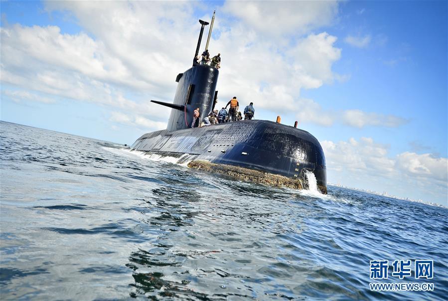 阿根廷海军一艘载有40人的潜艇失联