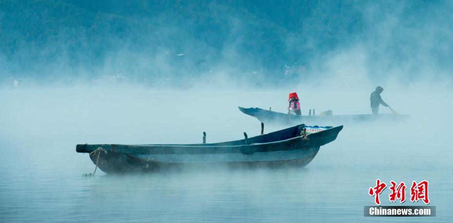 泸沽湖风景优美宛如仙境