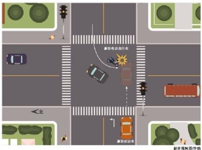 司机闯黄灯撞逆行车被判赔51万 二审激辩是否等于闯红灯