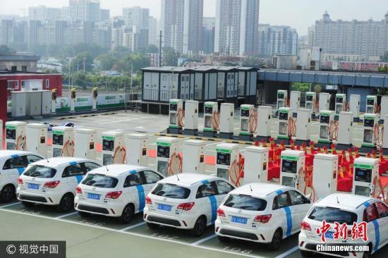 """全球车企""""押宝""""中国电动汽车市场:未来属于中国"""