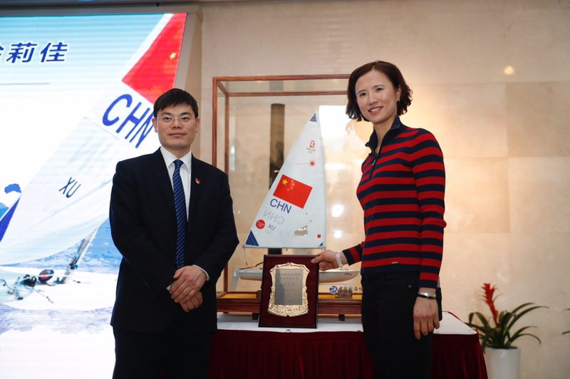 奥运冠军徐莉佳担任海博馆公益形象大使