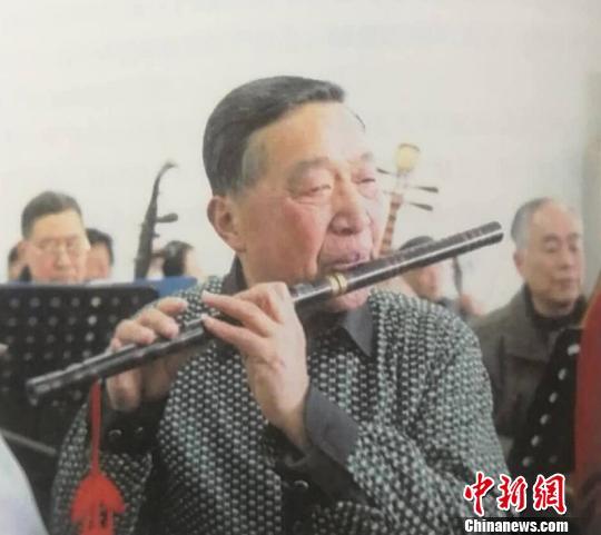 浙江德清草根民乐团创始人陆勋元:耄耋求艺不停步