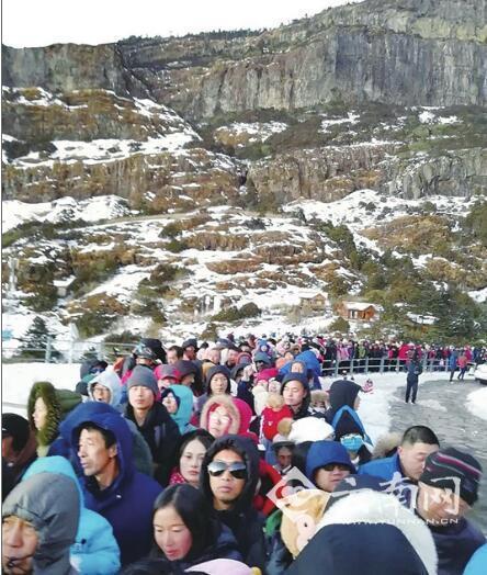 700多游客滞留云南轿子雪山? 景区:返程集中导致