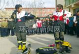 消防教育进校园(图)