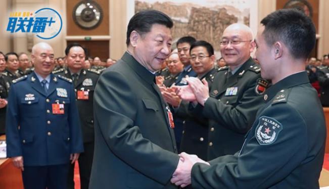 习近平六下解放军代表团勾勒强军路线图