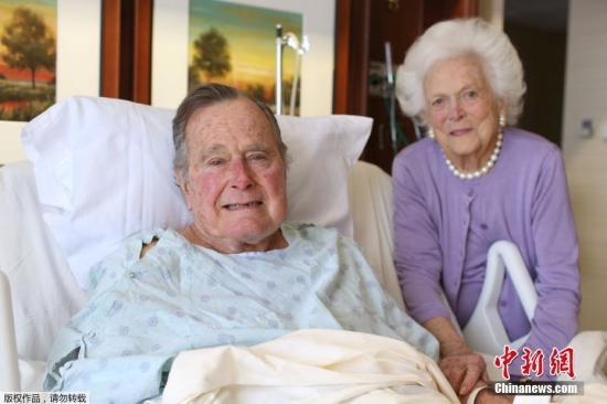 美前总统老布什妻子健康恶化 决定不再接受治疗