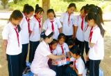 唐山:丰润杨家铺小学邀志愿者为学生讲解紧急救护知识