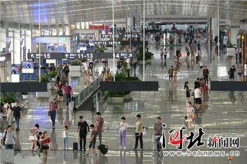 1至7月石家庄机场国际航线客流同比增长36.3%
