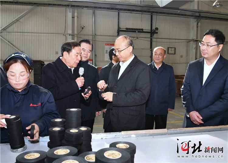 许勤到涿州调研并主持召开企业家座谈会