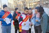 唐山:路南友谊街道开展新春志愿服务活动(图)