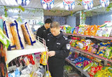 唐山:滦州警方为校园食品安全保驾护航(图)