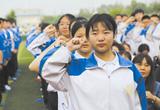 唐山市第九中学:为即将中考学生加油鼓劲(图)