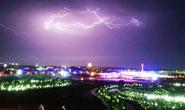 雷雨天气来袭!唐山的夜空也太惊艳了吧!