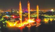 南湖音乐喷泉即将盛装归来