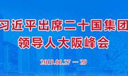 【专题】习近平出席二十国集团领导人大阪峰会