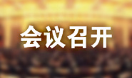市委召开常委会(扩大)会议,王浩主持会议并讲话