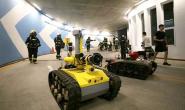中信重工开诚智能消防机器人参加北京超高层建筑灭火演练