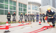 258名专职消防员训练场上展技能!唐山举行微型消防站比武竞赛