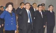 张古江带领市四大班子党员领导干部向李大钊同志塑像敬献花篮并重温入党誓词