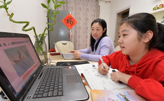 停课不停学 学习不延期――河北中小学网上迎来新学期