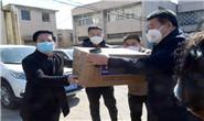现场视频|1万只口罩、0.5吨消毒液,全捐了!