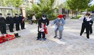 春晓社区开展消防安全演练活动