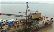 国内首条海底高铁隧道完成海上钻探