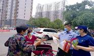 """惠民道街道联合消防大队开展""""安全生产月""""宣传活动"""