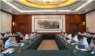 张古江与河北工业大学领导举行工作座谈