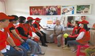 路北区青年志愿者慰问退伍老兵老党员