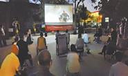燕京社区举办纪念抗日战争胜利75周年观影活动