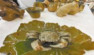 陶瓷螃蟹惟妙惟肖